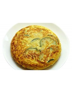 Truita de Patata, Carbassó i ceba