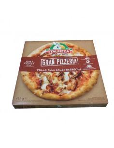 Pizza barbacoa pollo