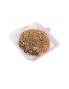 Hamburguesa de Pollastre amb Carbassó i Formatge