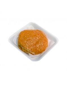 Hamburguesa de Pollastre amb Pastanaga