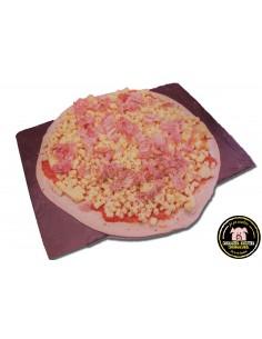 Pizza de Pernil dolç i bacon