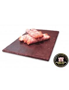 Frankfurts con bacon