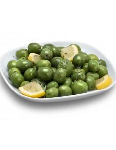 Olives llimona baixes de sal