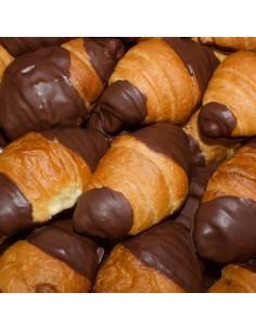 Croissant puntes xocolata
