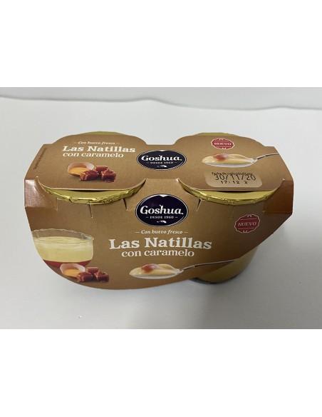 Natilles amb caramel Goshua (envàs vidre)