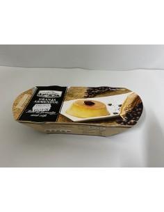 Flam de formatge amb cafè Granja Armengol
