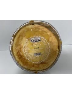 Pastís de formatge amb melmelada de llimona