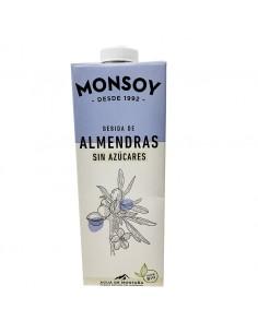 Beguda d'ametlles sense sucre Monsoy