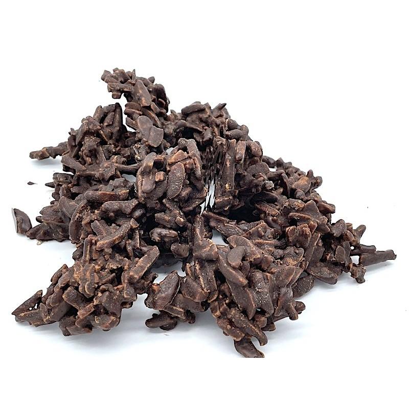Roquetes de xocolata negra