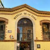 Mercat de la carn de Vilafranca. Nou mercat que començarà a vendre els seus productes online amb Aprop #Vilafranca