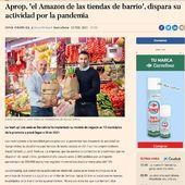 """EL """"Amazon de las tiendas de barrio"""" este es el eslógan con el que publica el Diario Expansión un artículo sobre nuestros marketplaces del pequeño comercio.  #ecommerce #marketplace #comercioproximidad  #comerciodeproximidad  #comerciolocal #pequeñocomercio"""